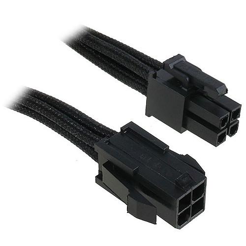 BitFenix Alchemy Black - Extension d'alimentation gainée - ATX12V 4 pins - 45 cm pas cher