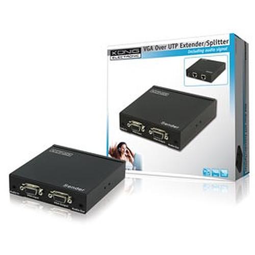 Emetteur VGA + Audio sur câble Ethernet jusqu'à 300 m pas cher