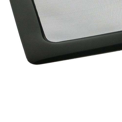 Filtre à poussière magnétique carré 80 mm (cadre noir, filtre noir) pas cher