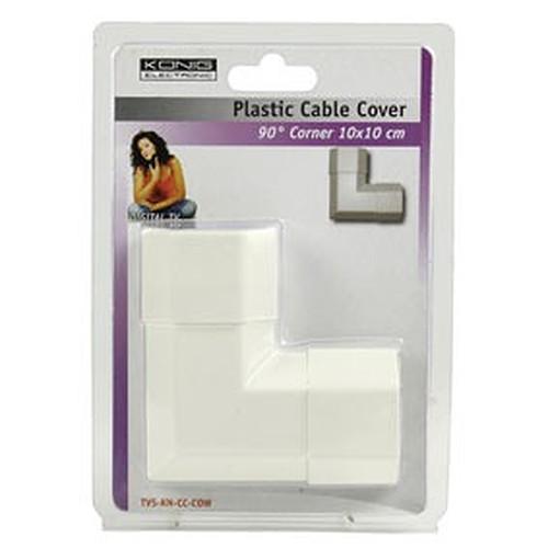 Angle pour goulotte cache-câble (5 cm) - (coloris blanc) pas cher